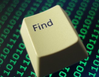 the Find key
