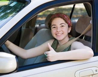 Teen Driving Car