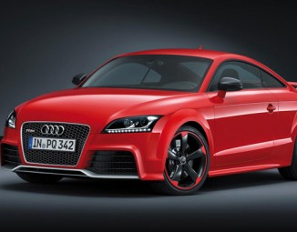 Red Audi Sports Coup